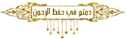 نتيجة بحث الصور عن فى حفظ الرحمن