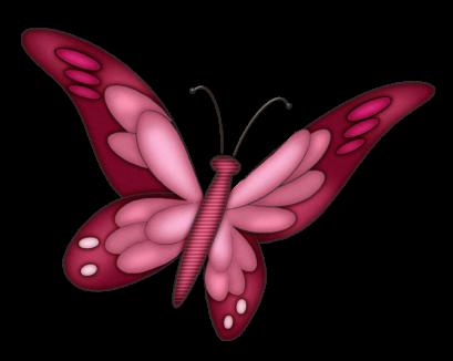 blue butterfly clip art