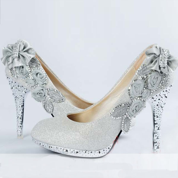 Wedding Shoes With Butterfly Custom Pumps